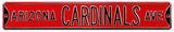 Arizona Cardinals Ave Steel Sign Wall Sign