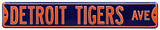 Detroit Tigers Ave Steel Sign Wall Sign