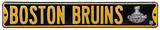 Boston Bruins Ave 2011 Champs Steel Sign Wall Sign