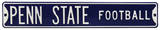 Penn State Football Steel Sign Wall Sign