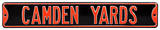 Camden Yards Steel Sign Wall Sign