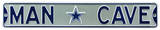 Man Cave Dallas Cowboys Steel Sign Wall Sign