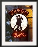 Tango Bar Sign, Buenos Aires, Argentina Framed Photographic Print by Demetrio Carrasco