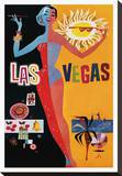 Las Vegas Stretched Canvas Print