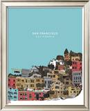 San Francisco Prints by  Hero Design