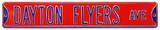 Dayton Flyers Ave Steel Sign Wall Sign