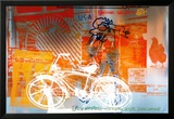 Bicycle, National Gallery Prints by Robert Rauschenberg