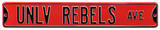 UNLV Rebels Ave Steel Sign Wall Sign