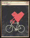 I Heart My Bike Posters by  Hero Design