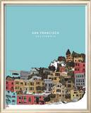 San Francisco Psters por Hero Design