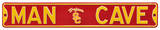 Man Cave USC Trojans Steel Sign Wall Sign
