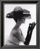 Madame Paulette Net Hat, c.1963 Print by John French