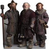 Nori, Dori, Ori The Dwarfs - The Hobbit Movie Cardboard Stand Up Cardboard Cutouts