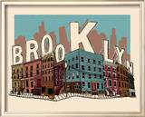 Brooklyn Poster von  Hero Design