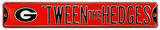 Tween The Hedges Georgia Logo Steel Sign Wall Sign
