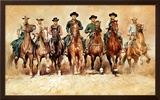 The Magnificent Seven Prints by Renato Casaro