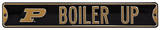 Boiler Up Purdue Steel Sign Wall Sign