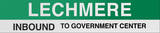 Lechmere Boston/Green Line Sign Wall Sign