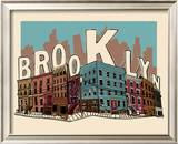 Brooklyn Posters by  Hero Design