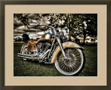 Harley Framed Photographic Print by Stephen Arens