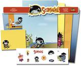Nathan Jurevicius - Scary Girl Stationery Stationary