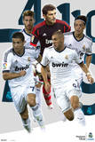 Real Madrid Players-2012-2013 Poster