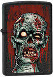 Zombie - Black Crackle Zippo Lighter Lighter