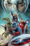 The Avengers-Power Affiches
