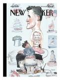 The New Yorker Cover - October 29, 2012 Regular Giclee Print by Barry Blitt
