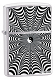 Infinity Yin Yang - Brush Chrome Zippo Lighter Lighter