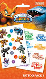 Skylanders Giants Temporary Tattoos
