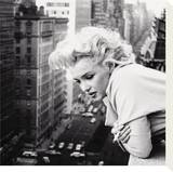 Marilyn Monroe Lrredstryk p blindramme