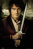 The Hobbit-Bilbo And Sword Kunstdrucke