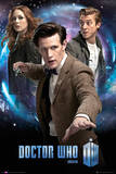 Doctor Who-Trio Print