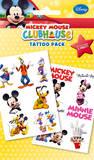 Mickey Mouse Clubhouse - Characters Temporary Tattoos Väliaikaiset tatuoinnit