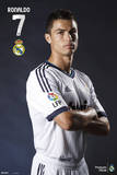 Real Madrid-Christiano Ronaldo Posters