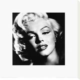 Marilyn Monroe: Glamour Stretched Canvas Print