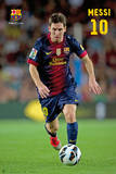 FC Barcelona - Lionel Messi Poster Kunstdrucke