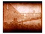 Vintage Bridge 2x Photographic Print by Evan Morris Cohen