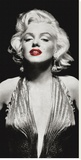 Marilyn in Evening Dress Stretched Canvas Print