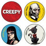 Creepy Button Pack Badge