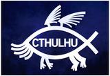 Cthulhu Fish Poster