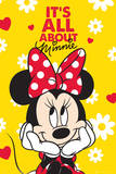 Minnie Mouse-All About Poster