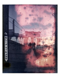 828 Vintage Bridge Lmina fotogrfica por Evan Morris Cohen