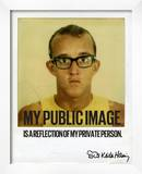 My Public Image Framed Photographic Print by Keith Haring
