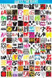 Guess The Logo-Bands Posters