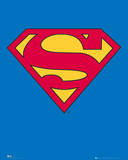 Superman-Logo Poster