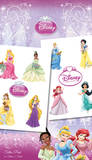 Disney Princess - Princesses Temporary Tattoos Temporary Tattoos