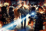 Doctor Who-Asylum of Daleks Kunstdrucke