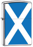 Scotland Flag Zippo Lighter Lighter